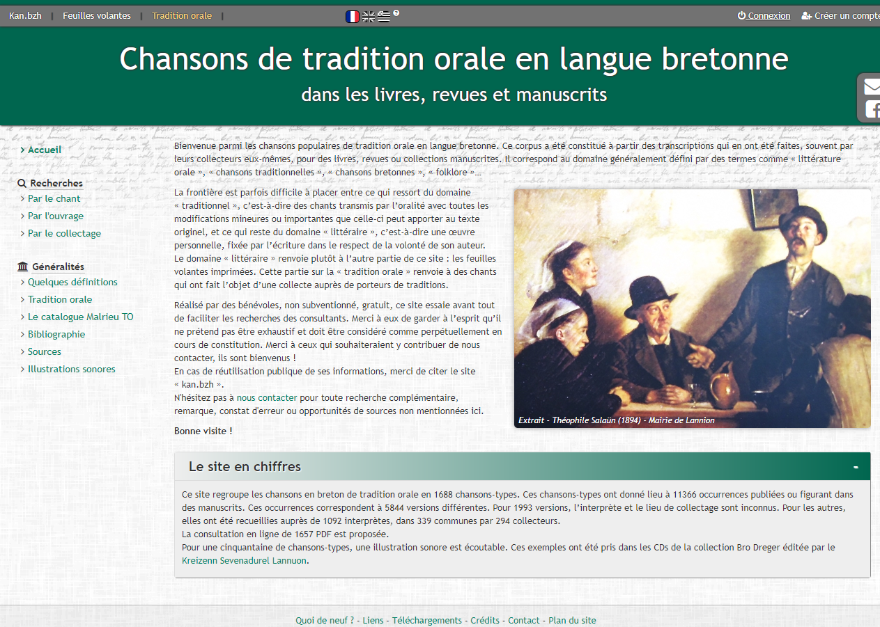 Tradition Orale Accueil