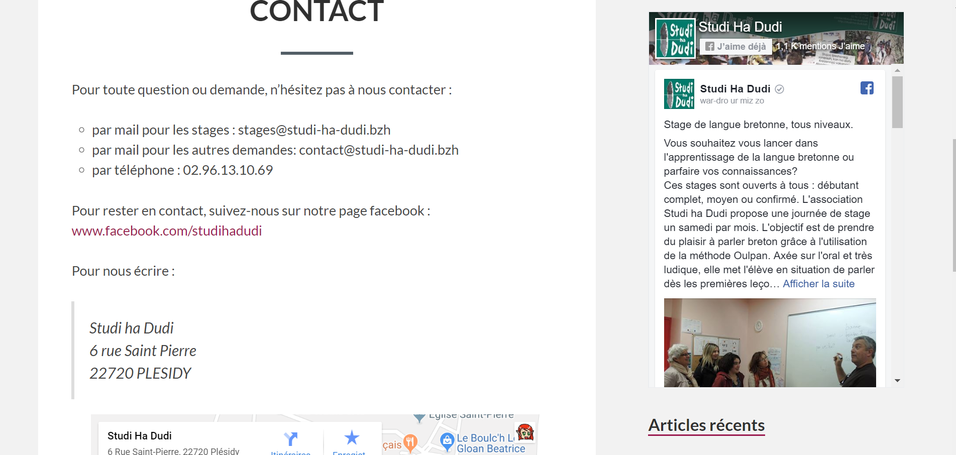 Contact – Studi ha Dudi